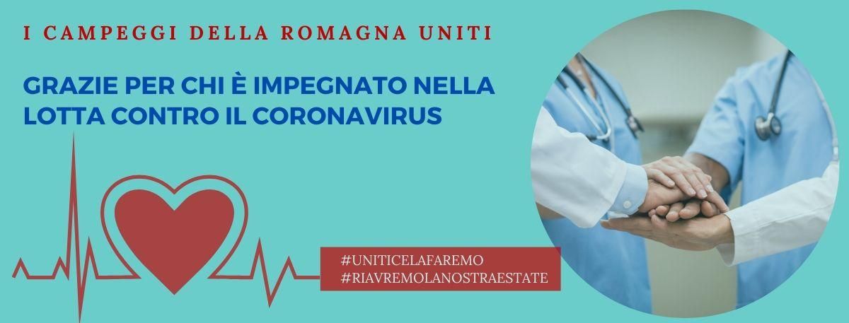 Camping & Natura Villages ringrazia chi è impegnato nella lotta contro il Coronavirus offrendo 150 settimane di vacanza gratuite